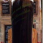 Onkel Josef dunkel beer from Olivenbauer`s microbrewery