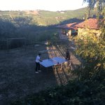 A ping pong game with a view