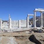 Templo de Demetria en Naxos, se halla en una colina en el centro de la isla, cerca de Ano Sagri.