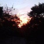 Lever de soleil sur Decazeville