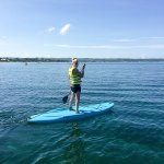 Paddle boarding - which is included with the Water Sports