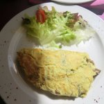 Omelette aux ceps