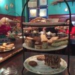 Scones, tea sandwiches and dessert