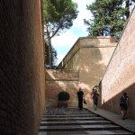 Palais des Rois de Majorque : rampe d'accès
