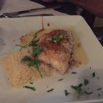 Snapper in garlic lemon sauce Flounder in a spicy citrus crust