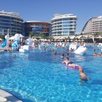 Pool party organised by the Entertainment team