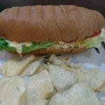 Deliciosos sandwiches de pan isleño
