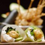 Prawn Sushi Cones