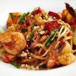 Spicy Jumbo Shrimp Pad Thai