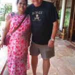 Me with Meilit - she will provide the most amazing Khasi massage, which is a truly healing exper