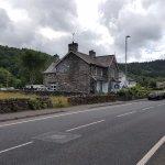 Bod Gwynedd when approaching from Betws-y-Coed.