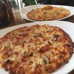 Pizzas were good