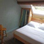 chambre double, bâtiment arrière