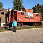 Bennington Station Caboose