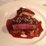 Duck Breast with Foie Gras
