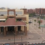 Main train station of Marrakech