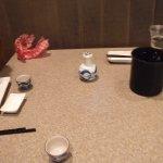 Wierd hot water container to keep Sake hot