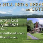 Piney Hill Bed & Breakfast and Cottages business card