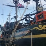 Captain Hook Barco Pirata Pirate Ship Foto