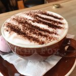 Yummy hot chocolate.