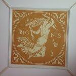 AQUA ceiling detail (Bradbury & Bradbury wallpapers)