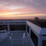 Water Tower observation deck sunset
