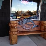 The Deep End Cafe Bench