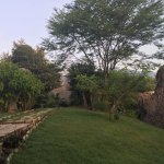 Vista de la Villa donde se encuentran las cabañas