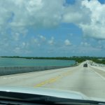 View from bridge between Keys