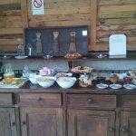 presentación del desayuno buffet