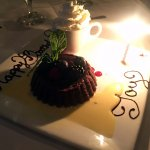Chocolate Duo - molten lava cake, and chocolate mousse