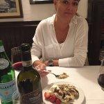 Comemos uma Fiorentina maravilhosa e este tiramisu estava dos deuses.