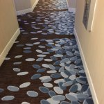 Loved the carpet in the hall