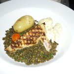 Chicken and puys lentils