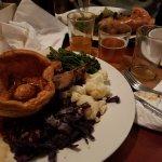 Sunday roast and cider