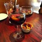 Paella Negra and best sangria