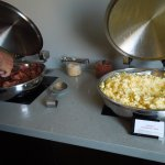 Concierge: eggs and bacon