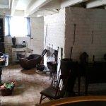 Winter kitchen in cellar