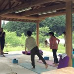 Yoga shala near the B&B. Lesson taught by B&B owner, Olivier Charles.