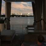 The view from the pool area, one of the best in Miami Beach.
