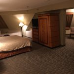 Corner room/suite.