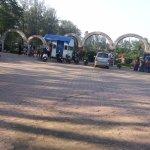 Entrance & Ticket Booth at the Vanganga Lake Garden