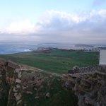 Vista desde el Faro del Cabo Mayor hacia el este.