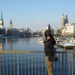Lake Zurich is a sight to behold because of the Alps at the distance. It is one of the purest la