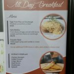 All day breakfast special is not available for purchase at breakfast time.