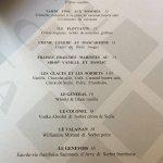 Kudeta, Carouge: carte des mets