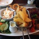 Quite the plateful!