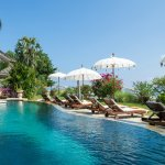 Palm Garden Amed - Pool and Beachfront Bungalow