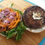 Le Bagel Burger! Spécial du chef!