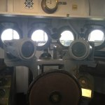 Inside the aircraft carrier